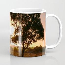 Evening Golden Landscape Coffee Mug