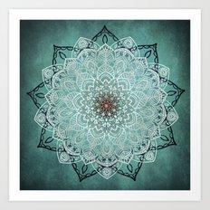 Mysterious Mandala Art Print