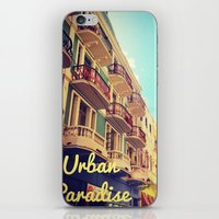 puerto rico iPhone & iPod Skins featuring Colorful Puerto Rico  by Forgotten Charm