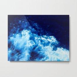 The Deep Blue Sea Metal Print