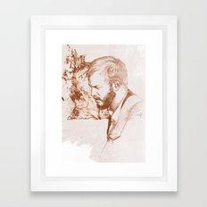 Bon Iver (Justin Vernon) Framed Art Print