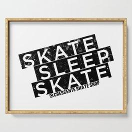 Skate Sleep Skate Serving Tray