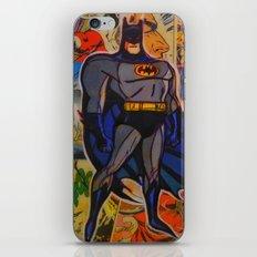 The Bat Man iPhone & iPod Skin