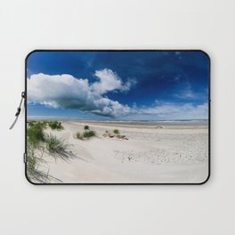Grenen Beach Panorama Laptop Sleeve