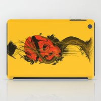 hero iPad Cases featuring Nameless Hero by nicebleed