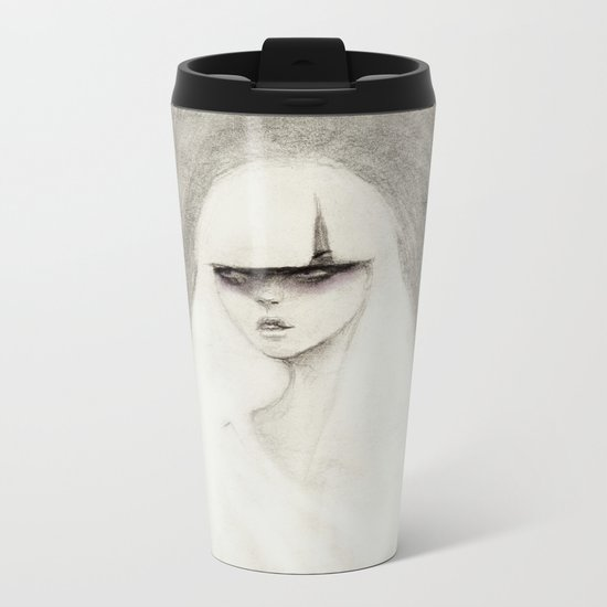 From the Other Side Metal Travel Mug