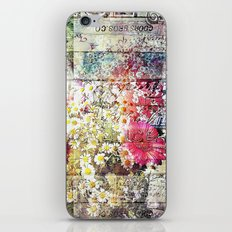 Wild flowers on display iPhone & iPod Skin
