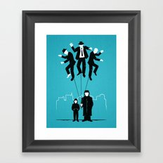 Because it's Cool. Framed Art Print