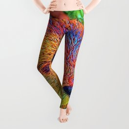 AnimalColor_Otter_001_by_JAMColors Leggings