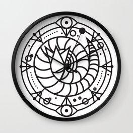 SANDWORM: ARRAKIS BADGE Wall Clock
