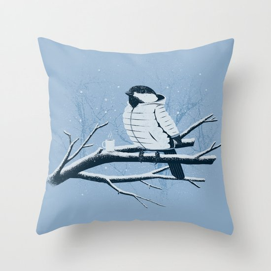 North For The Winter. Throw Pillow