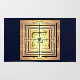 Knowledge Labyrinth Rug