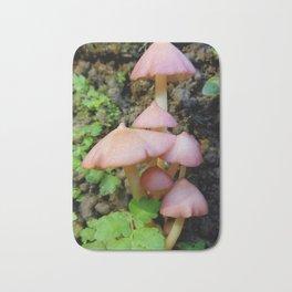 Rainforest Pink Mushroom Bath Mat