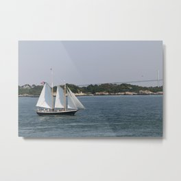 Narragansett Bay III Metal Print