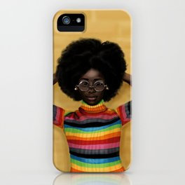 afro iPhone Case