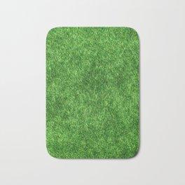 Green Grass Background Bath Mat