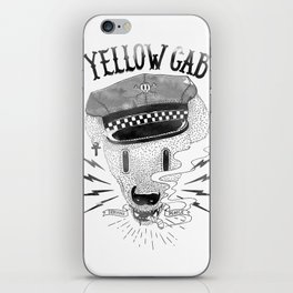 Bad Taxi Driver iPhone Skin