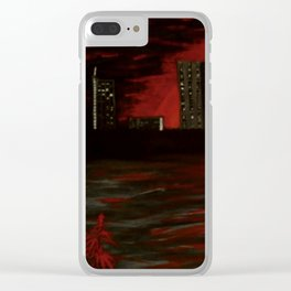 Leaves of Change Clear iPhone Case