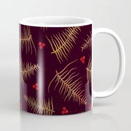 Fronds & Berries in Fall Coffee Mug