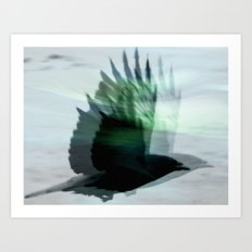 GhostBird Art Print
