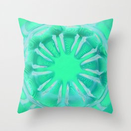 Mandala 1497 Throw Pillow