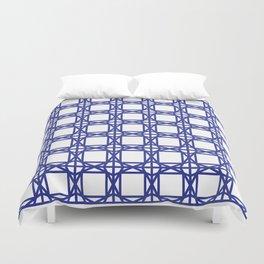 DG GEOMETRIC – COBALT BLUE Duvet Cover