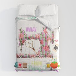 FABRIC HOARDER Funny Quilting Sewing Seamstress Crafter Gift T-Shirt Comforters