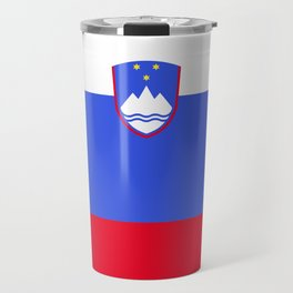 Slovenia flag emblem Travel Mug