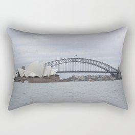 Sydney Opera House and Harbour Bridge Rectangular Pillow