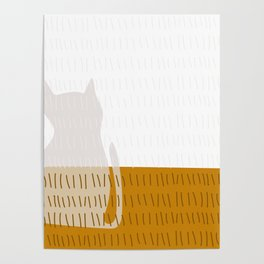 Coit Cat Pattern 3 Poster
