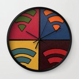 WiFi Tiles Wall Clock