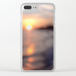 Soft Sun Clear iPhone Case