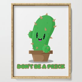 Pricky cactus Serving Tray