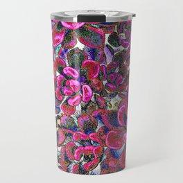 Floral tribute [red velvet] Travel Mug