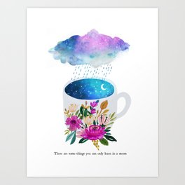 Storm by Mia Charro Art Print