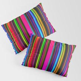 Technicolor LED Sculpture Light Painting Pillow Sham