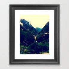 Tiger Leaping Gorge Framed Art Print