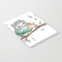 Magic Owls Notebook
