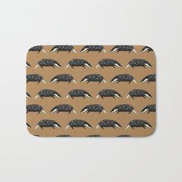 Badgers - Light Brown Version Bath Mat