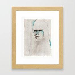 NaNoDrawMo 2012 - 13 Framed Art Print