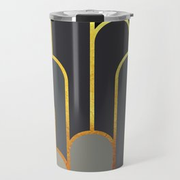 Art Deco Looking For Clues Travel Mug
