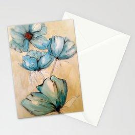 Vintage Blue Stationery Cards