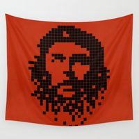 revolution Wall Tapestries featuring Digital Revolution by Tom Burns