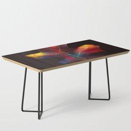 Rainbow Leaf Coffee Table