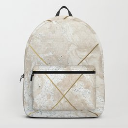 Gold & Marble 01 Backpack