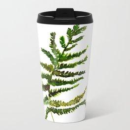 pretty  green Metal Travel Mug