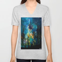Night in Color Unisex V-Neck