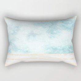 Pastel Marble Composition #5 Rectangular Pillow