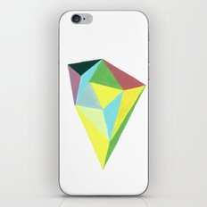 Polygonal triangle iPhone & iPod Skin