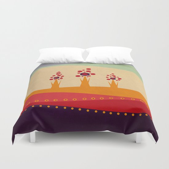 Color/Landscape 2 Duvet Cover